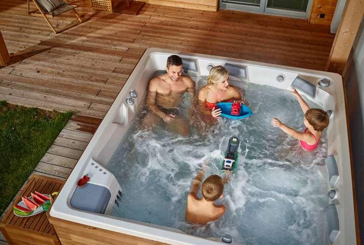 Hidromasažni bazeni za obitelj
