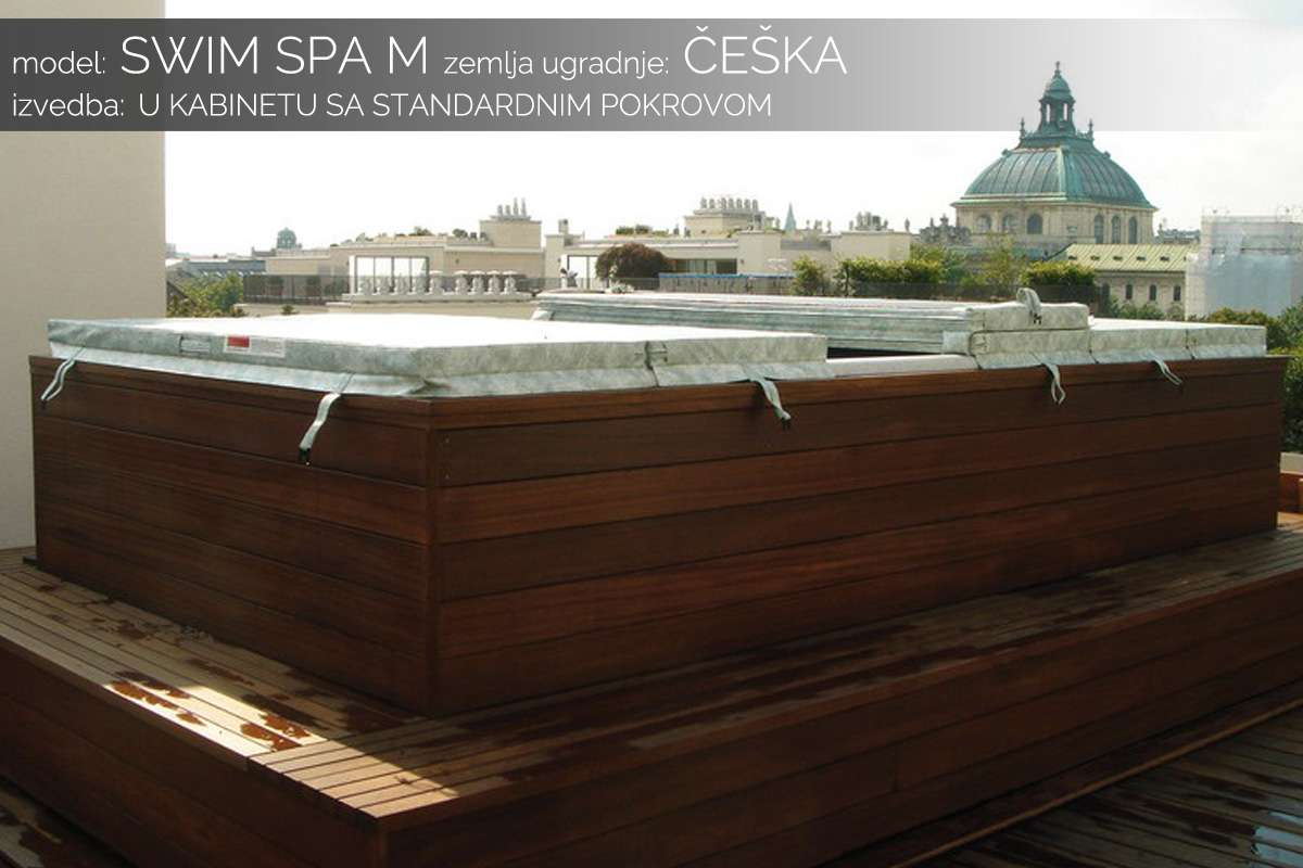 Swim spa - Češka