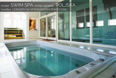 Swim spa standardni pokrov - Poljska