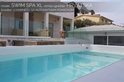 Swim spa XL automatski pokrov - Hrvatska