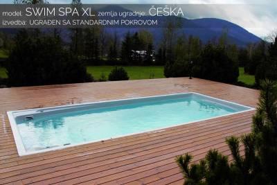 Swim spa XL - standardni pokrov - Češka