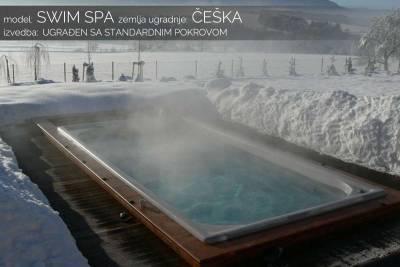 Swim spa zima - Češka