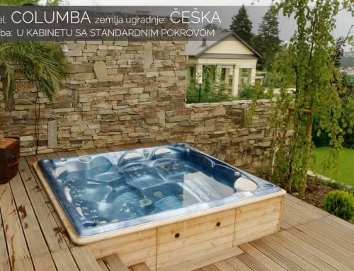 Hidromasažni bazen Columba – Češka