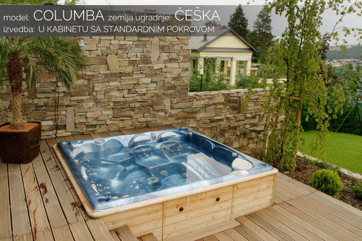 Hidromasažni bazen Columba - Češka
