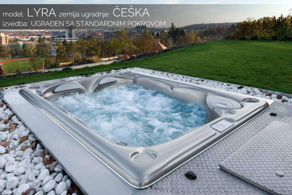Hidromasažni bazen Lyra - Češka