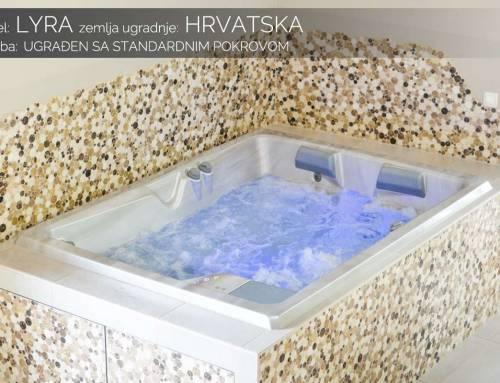 Hidromasažni bazen Lyra – Hrvatska