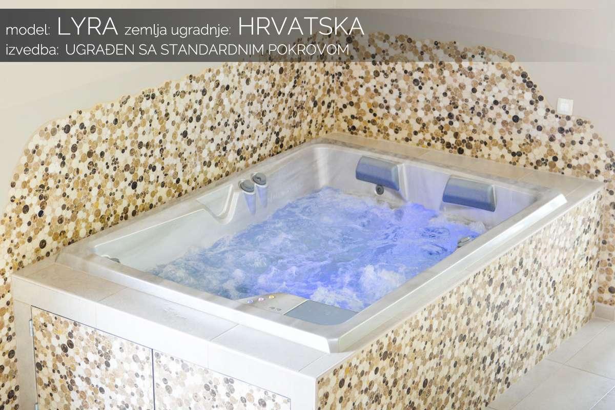 Hidromasažni bazen Lyra - Hrvatska