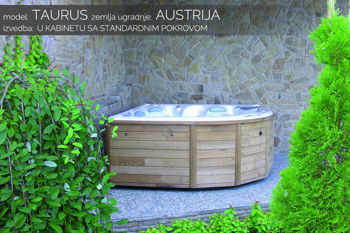 Hidromasažni bazen Taurus u kabinetu - Austrija